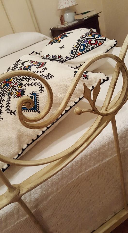 letto in ferro battuto fatto artigianalmente