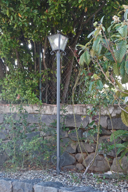luce per esterno con una luce
