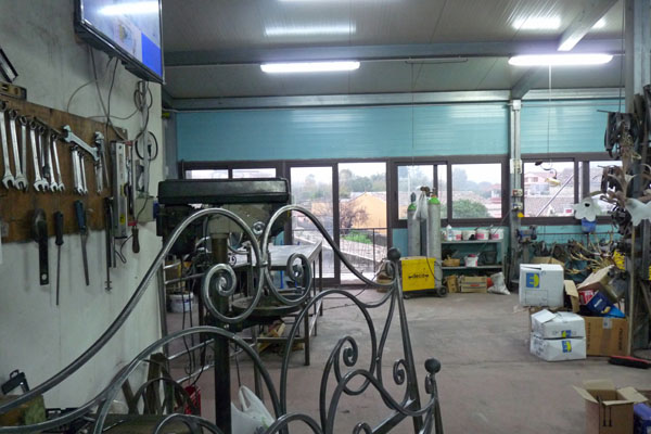 Zona officina della nostra fabbrica