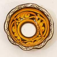 decoro 10 piatto in ceramica fatto a mano