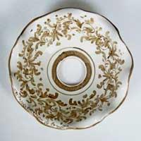 piatto in ceramica decorato a mano n.26