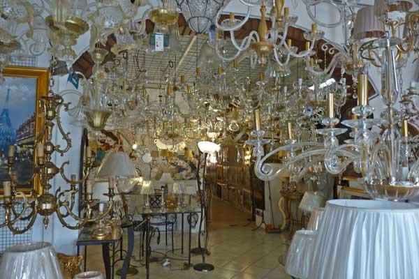 negozio lampadari per stanza da letto
