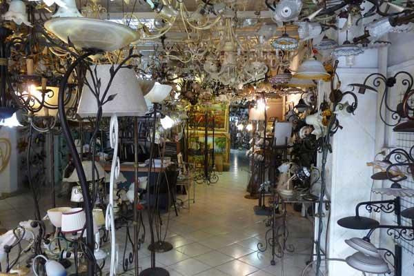 negozio illuminazione per casa
