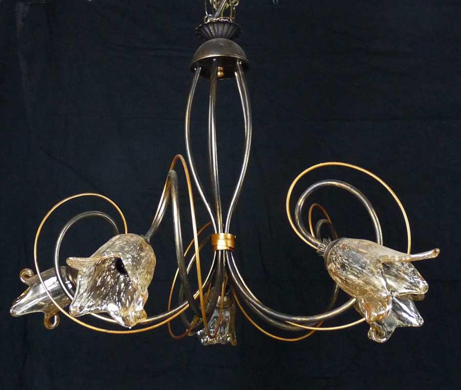 Lampadario Antico Lampada Con 5 Luci Per Stanza Da Letto Art L46